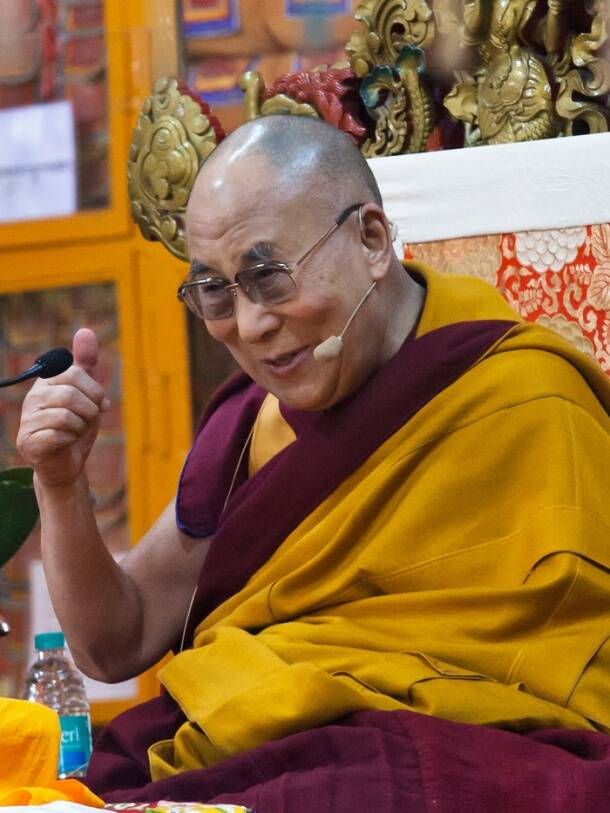 Today in Pics: Dalai Lama addresses religious talk