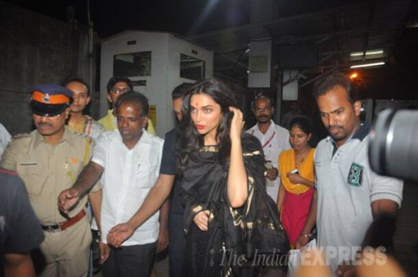 Deepika Padukone's double outing: visits Siddhivinayak, attends magazine launch