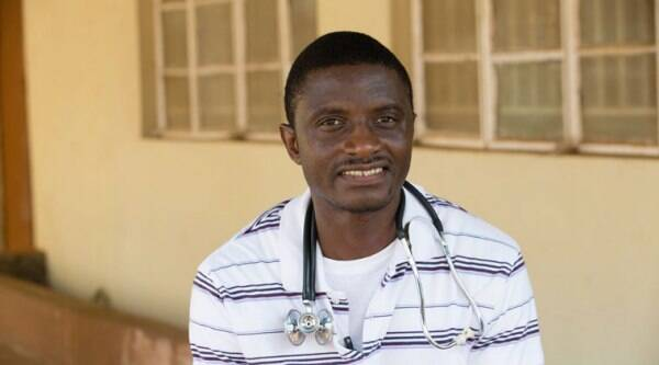 Doctor Martin Salia contracted the disease while working in Sierra Leone. (Source: AP file photo)