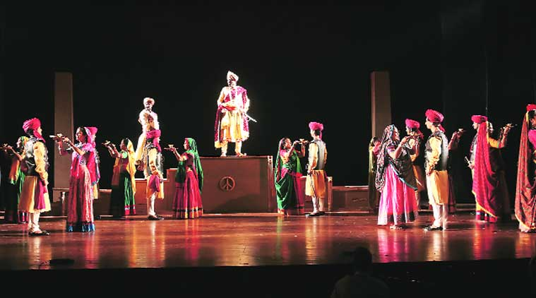 Scenes from Gazab Teri Ada, a tribute to World War I during its centenary