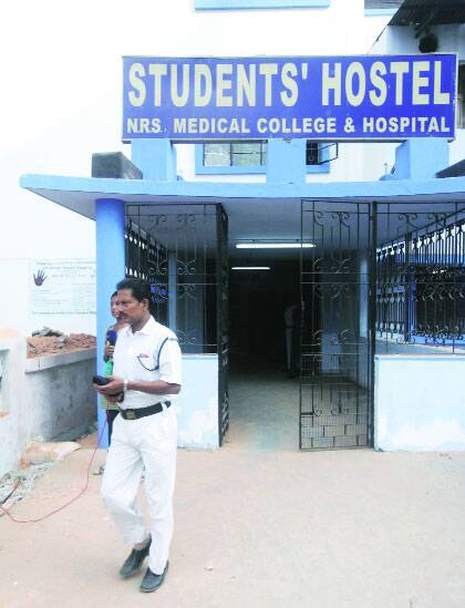 Police found youth tied to a pillar in hostel.(Source: Express photo)