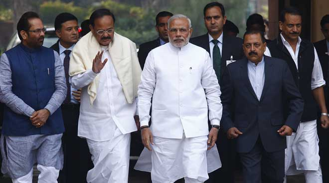 Parliament winter session begins, Modi govt ready to take lot of heat