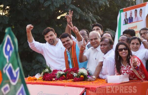 Nagpur welcomes Fadnavis, first CM from the city