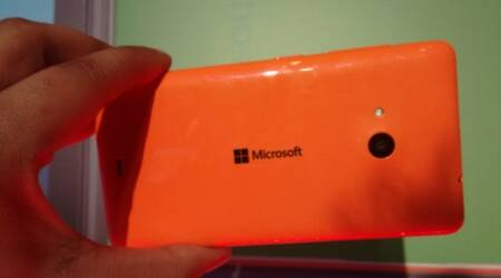First look at India's first Microsoft-branded Lumia 535 smartphone