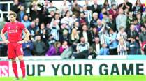 Toon trouble forLiverpool