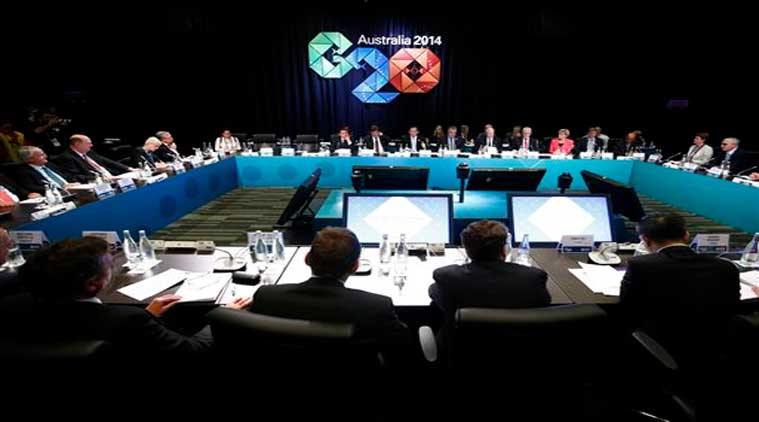 The B-20 meeting engages governments on behalf of the international business community. Leaders of the top 20 industrialized nations will gather in Brisbane November 15-16 for their annual G20 summit. (Source: AP)