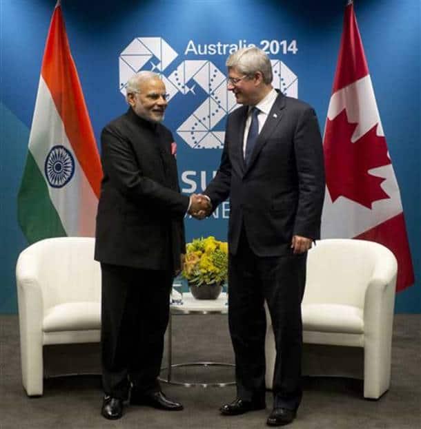 PM Narendra Modi meets world leaders at G20
