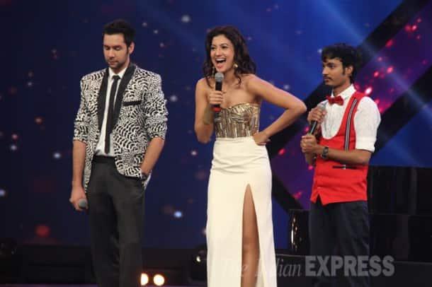 Saif and his 'Happy Ending' girls Ileana, Kalki
