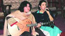 Haniya Aslam and Zebunissa Bangash