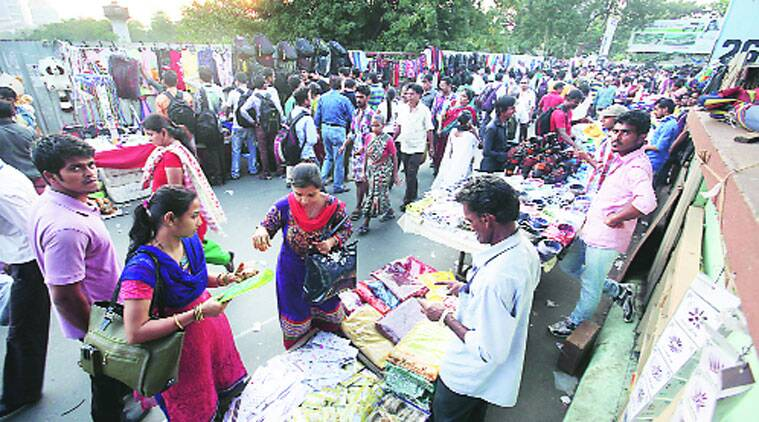 hawkers news, shanti dwellers news, kolkata news, indian express news