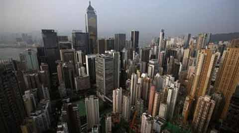 Highrise residential and commercial buildings are seen at Hong Kong island August 29, 2012. (Source: Reuters photo)