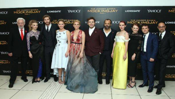 Jennifer Lawrence, Liam Hemsworth, Josh Hutcherson glam up 'The Hunger Games Mockingjay Part 1' premiere