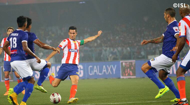 Both teams refused to play second fiddle in the top of the table clash but it was ATK who had the best opportunity. (Source: ISL)