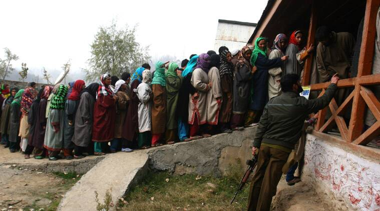 Voting began on Tuesday for the first phase of polling for Assembly elections in Jharkhand and Jammu and Kashmir.
