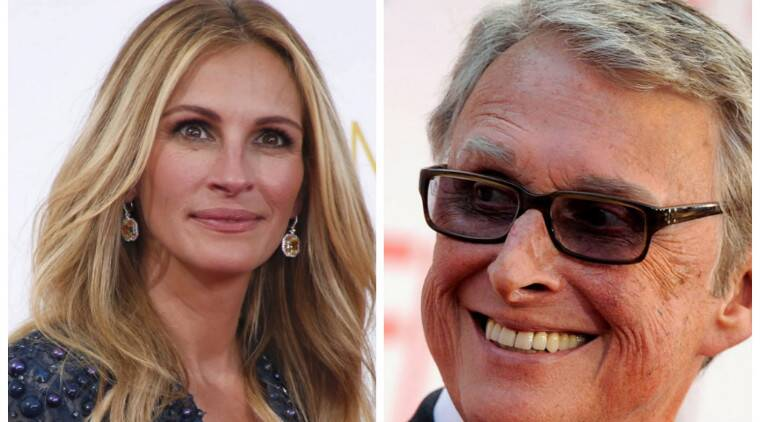 Julia Roberts worked with Mike Nichols on his last two directorial projects, 'Closer' and 'Charlie Wilson's War'. (Source: Reuters)