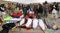 Afghan bombings kill 2 NATO troops, 6 civilians