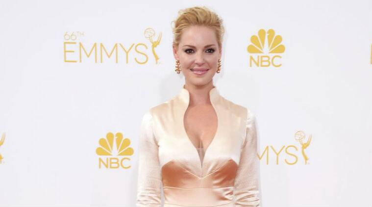 There were reports that Katherine Heigl was difficult to work with following her acrimonious exit from medical drama 'Grey's Anatomy'. (Source: AP)