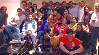 Arpita Khan, Aayush Sharma throw a house warming party at their new flat