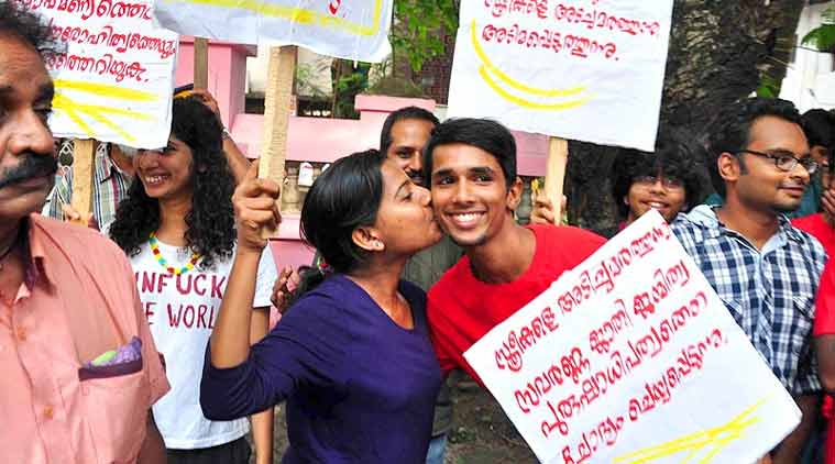 This is a cultural surge. Come let us kiss in the street, said the Facebook page.