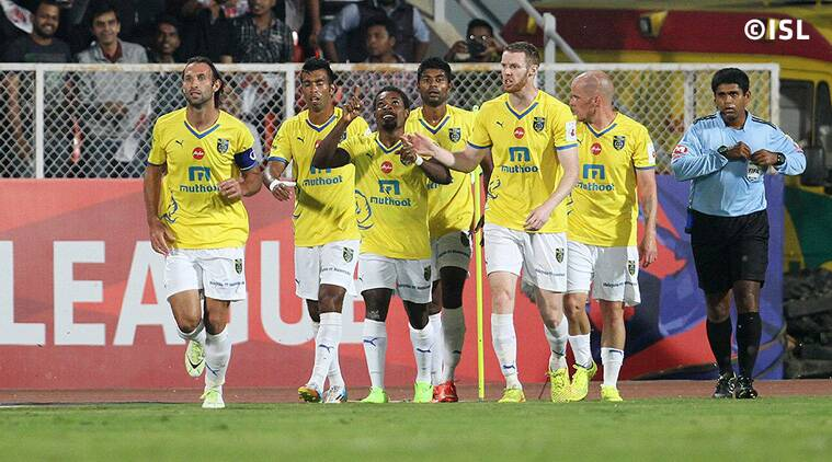 A battle between two porous backlines is on the cards when Kerala Blasters visit Mumbai City. (Source: ISL)