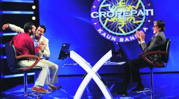 Waseem Raja during the show. ( Source: Sony TV )