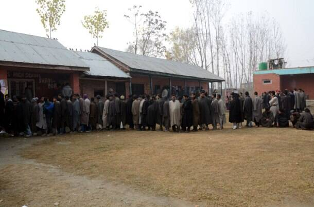 Record voter turnout in Jammu and Kashmir polls