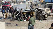 Afghanistan: Suicide attack targets British embassy car, fivedead
