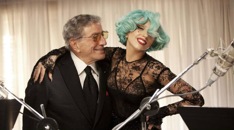 Lady Gaga and Tony Bennet released jazz standards album Cheek to Cheek in September. (Source: Reuters)