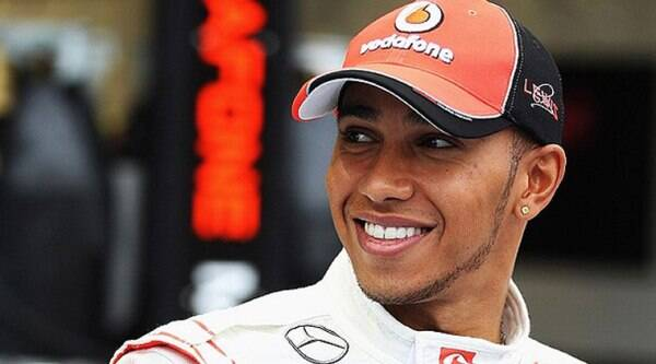 Lewis Hamilton claimed an early advantage over Mercedes team mate and title rival Nico Rosberg. (Source: Reuters)