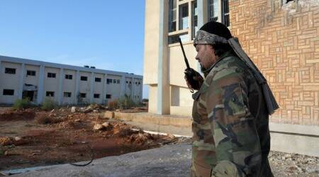 East Libyan forces claim control of central Benghazi neighbourhood