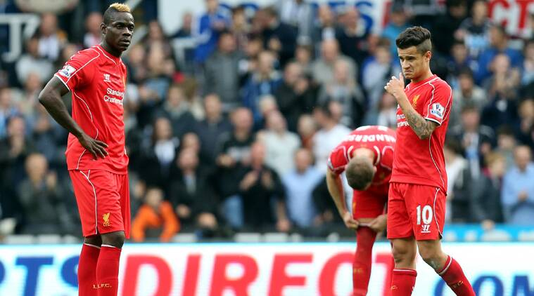 Liverpool's underwhelming start to the season continued as they slumped to a 1-0 defeat at Newcastle. (Source: AP)
