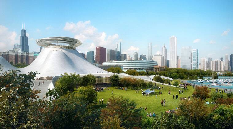 Opponents of George Lucas' plan to build a museum along Chicago's lakefront filed a lawsuit.