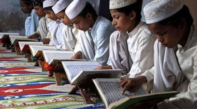 Students at a madrasa.