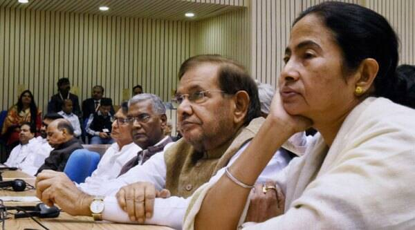This was the first Congress event attended by the Left and the TMC since they snapped ties with the party in 2008 and 2012 respectively.