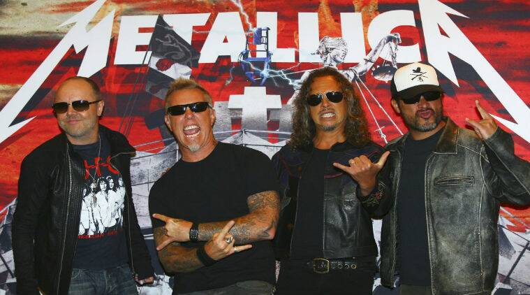 The 'Enter Sandman' rockers will top the bill at the dual-sited event for the fourth time next August. (Source: Reuters)