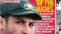 How the media mourned Phillip Hughes' death