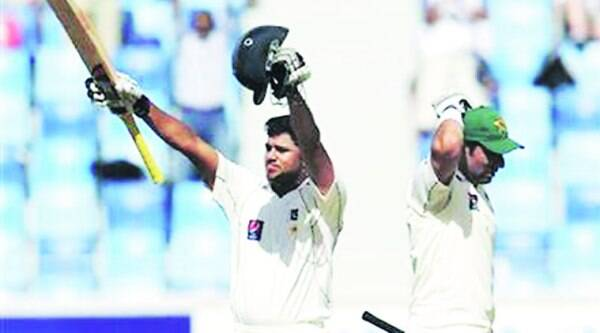 Both Azhar Ali and Misbah ul Haq hit two centuries in the same Test match in Abu Dhabi. (File)