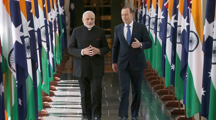 LIVE: Narendra Modi visits MCG, tweets a selfie with 'friend