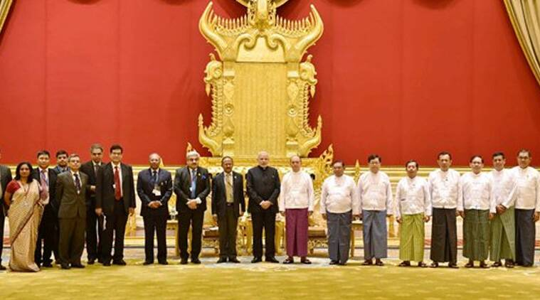 PM Modi lands in Myanmar, pushes for better connectivity and
