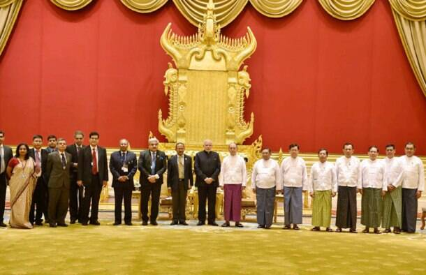 Today in Pics: Narendra Modi meets President of Myanmar U Thein Sein