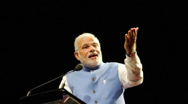 """""""Mr Modi has got India and the world excited about his country's prospects again,"""" Warren Fernandez, editor of the daily said in a statement."""