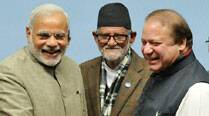 SAARC summit: PM Narendra Modi, Pak PM Nawaz Sharif shake hands, but no talks