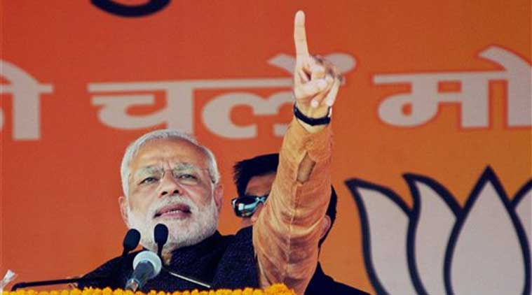 "Addressing his first election rally in the state, Modi said ""democracy, humanity and Kashmiriyat, these words of Atal ji have made special place in the hearts of Kashmiris."