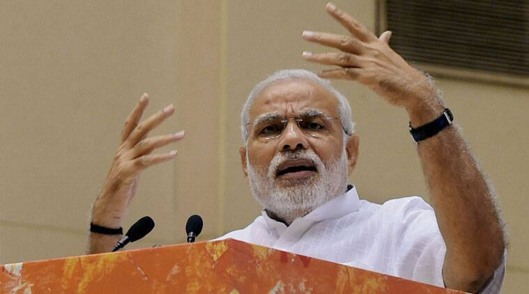 Modi announced visa on arrival facility for all the 14 Pacific Island countries. (Source: PTI photo)