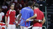 Davis Cup Final: Monfils gives Red the Blues, brings France level