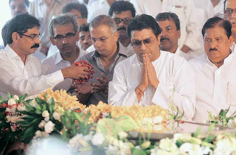 MNS president Raj Thackeray