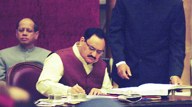 Nadda, J P Nadda, mission indradhanush pune, pune child protection, child vaccination, child healthcare pune, children medical care Indian express