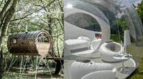 From tree house to bubble dwelling: Five fab ideas to live closer to nature