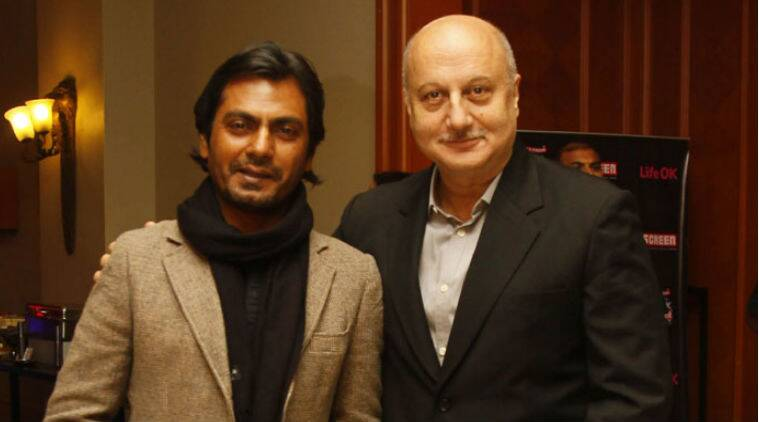 Nawazuddin Siddiqui and Anupam Kher shared ideas at Indian cinema conclave.