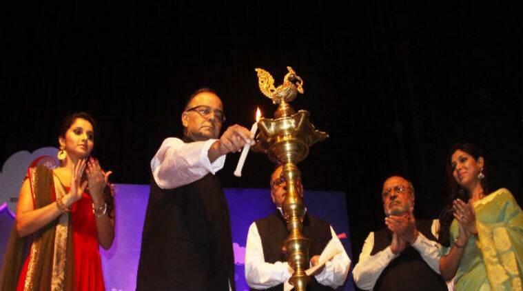 The National Children's Film Festival was inaugurated by Finance minister Arun Jaitley at Siri Fort Auditorium.